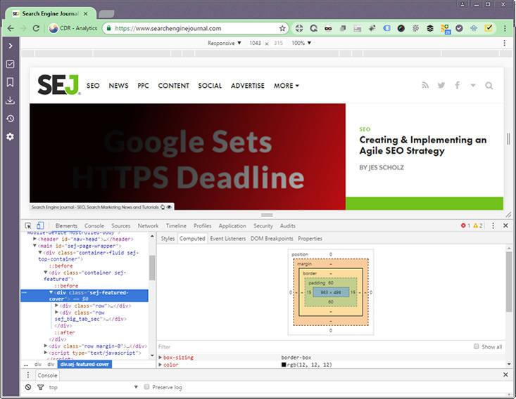 Chrome开发者工具