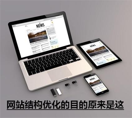 原来网站结构优化注意的目的这几点,东莞seo在线学