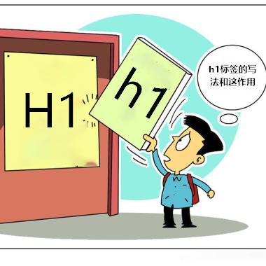H1标签的写法和作用