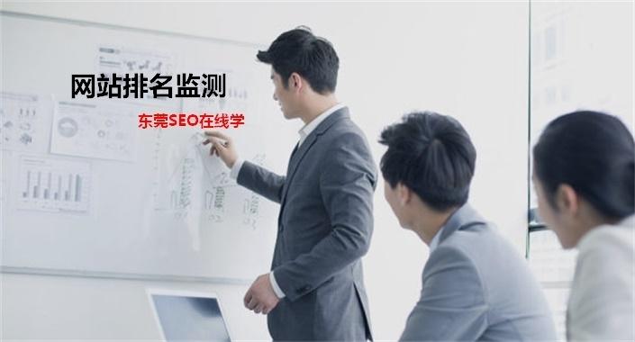 排名监测才能网站排名提升,东莞seo在线学